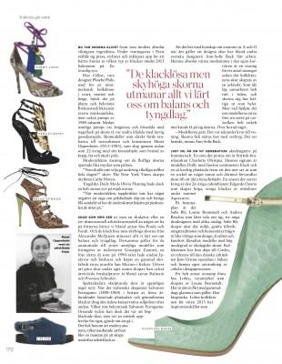 Damernas Värld Lobra shoes article