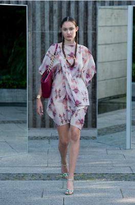 Lollo Shoulderbag at CPH Vision Fashionshow SS12
